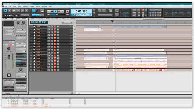 Midi файлы на синтезаторе
